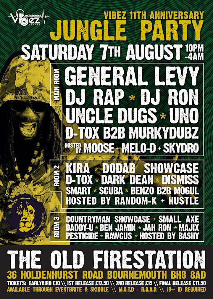 Vibez - 11 Years w/ General Levy, DJ Rap, DJ Ron, Uncle Dugs + more image