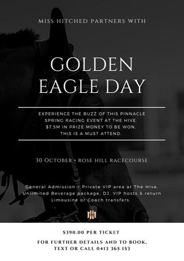 Golden Eagle Day ( Derby Day) VIP Races Event image