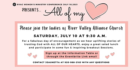 All of My Heart Women's Conference tickets