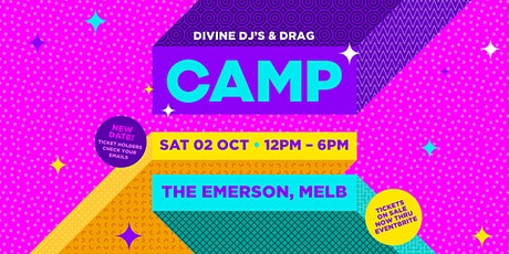 CAMP: Melbourne (Sat Oct 2) tickets