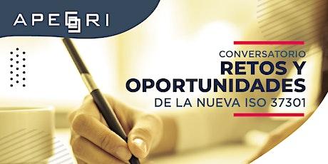 Conversatorio Retos y Oportunidades de la nueva ISO 37301 tickets