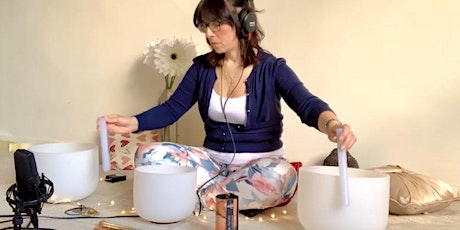 Virtual Chakra Cleansing Guided Meditation & Crystal Bowl Sound Healing tickets