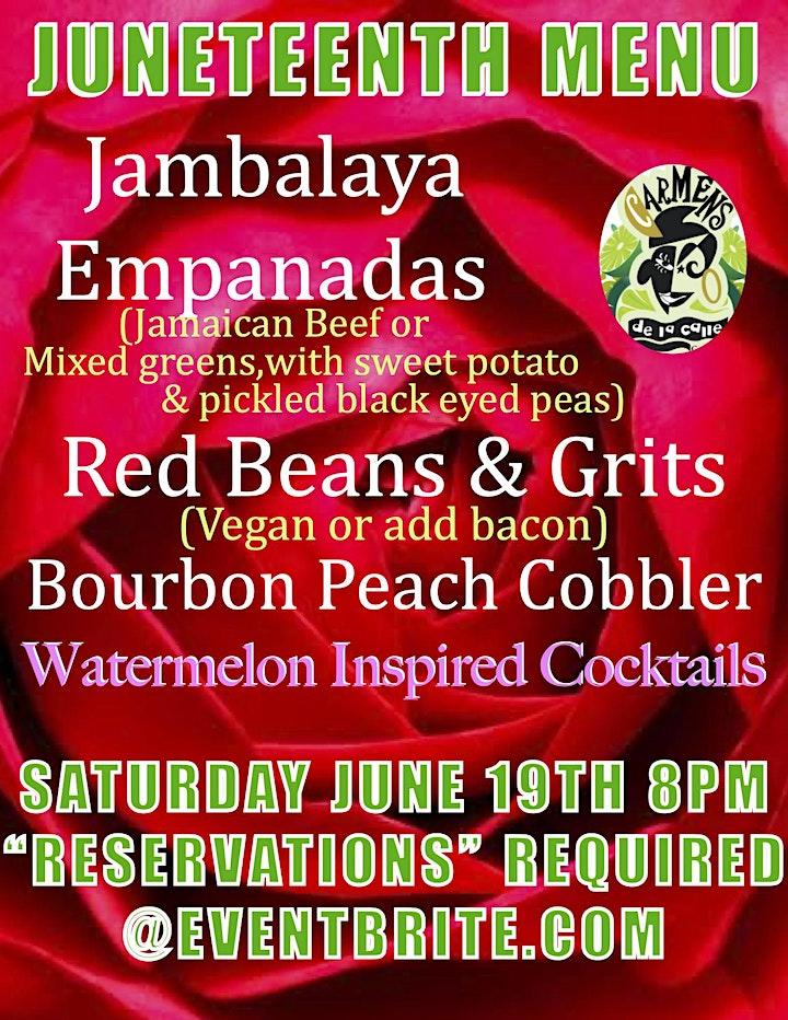 Juneteenth Fiesta with Poet Laureate Andrea 'Vocab' Sanderson image
