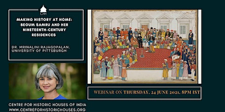Making History at Home: Begum Samru and her Nineteenth-century Residences tickets