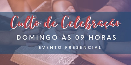 Culto de Celebração - 9h ingressos