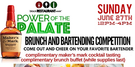 Maker's Mark Bartending Competition and Brunch tickets