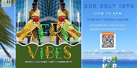 NYO BOSTON: AFROVIBEZ SUMMER BASH tickets