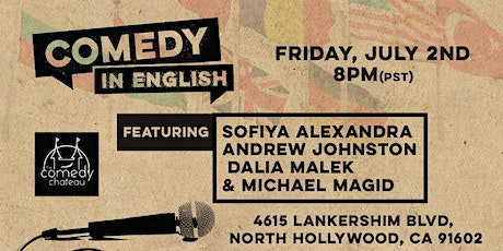 Comedy in English! tickets
