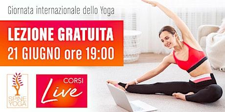 Lezione gratuita Spine Yoga DAY | 21 Giugno ore 19:00 biglietti