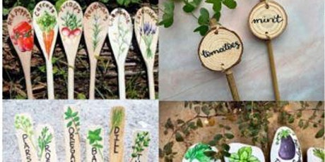 HISTOIRE VIVANTE/LIVING HISTORY: Étiquettes pour plantes / Garden markers tickets