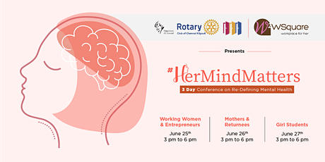 #HerMindMatters - Virtual Summit on Mental Health & Wellness for Women tickets
