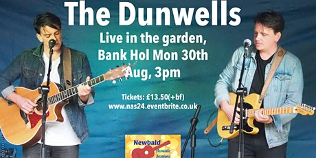 The Dunwells Live in the Garden (Newbald Acoustic Sessions) tickets