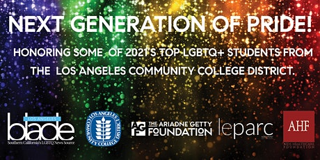 The Next Generation of Pride tickets