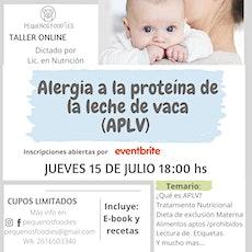 Alergia a la proteína de la leche de vaca (APLV) entradas