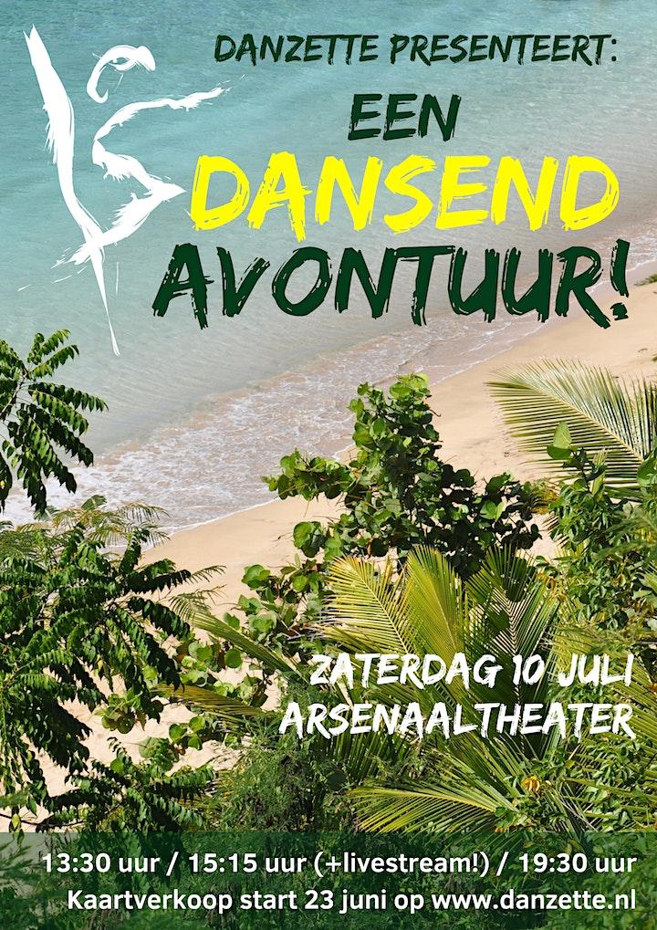 Afbeelding van Dansschool Danzette presenteert: EEN DANSEND AVONTUUR! op DVD