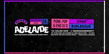 BONEZ • Alternative Queer Party • Adelaide tickets