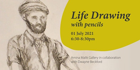 Life Drawing with Dwayne Beckford: Pencils tickets