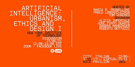 Artificial Intelligence: Urbanism, Ethics and Design I tickets