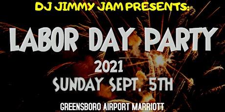 DJ JIMMY JAM LABOR DAY PARTY 2021 tickets