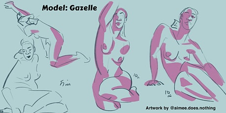 Figure Drawing on Zoom – Poses from 1– to 20–minutes tickets