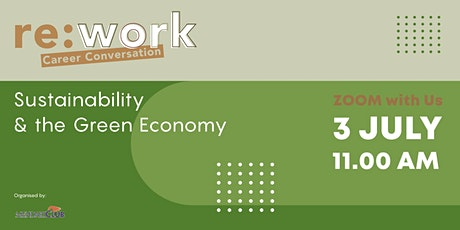 Re:Work Career Conversation: Sustainability & Green Economy tickets