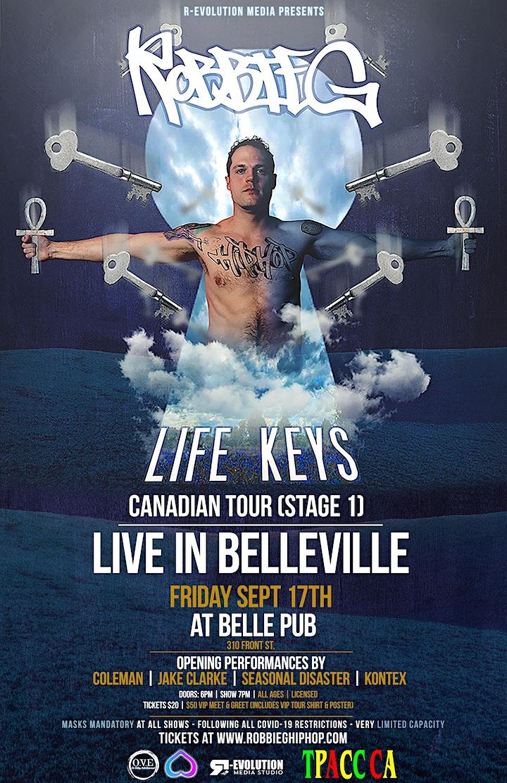 Robbie G live in Belleville Sept 17th at Belle Pub image