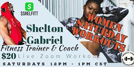 Women Saturday Workouts - Full Body Fitness Training billets