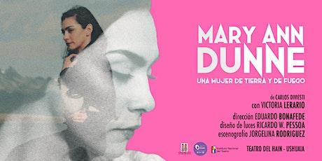 Mary Ann Dunne - Teatro del Hain entradas
