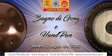 Copia di Bagno di Gong e HandPan- Evento in presenza biglietti