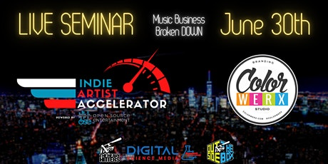 Indie Artist Accelerator Music Business Conference tickets