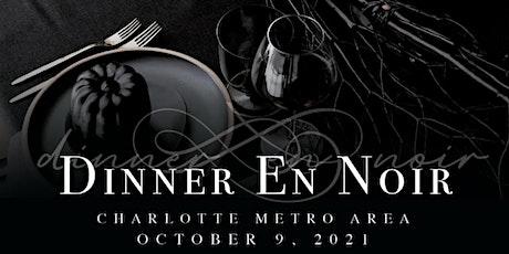 Dinner En Noir Charlotte ingressos