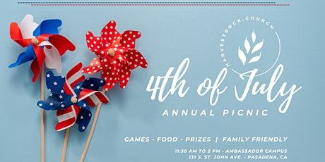 HRC 4th of July Picnic tickets