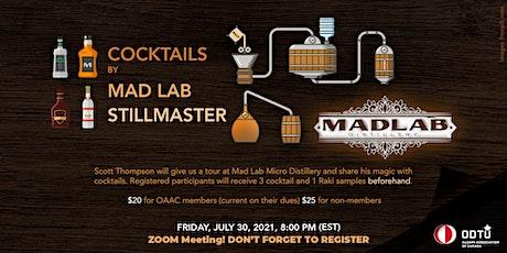 Cocktails by Mad Lab Stillmaster tickets