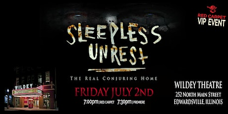 'The Sleepless Unrest' Film Premiere Red Carpet Event tickets