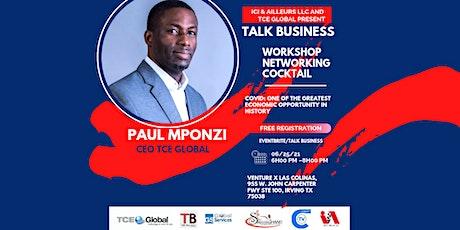 Talk Business tickets