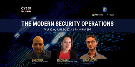 Cyber Tech & Risk - The Modern Security Operations tickets