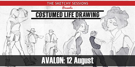 Costumed Life Drawing @ Avalon Beach - 12 August tickets