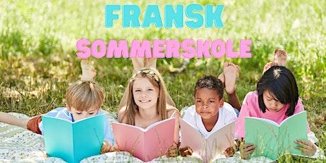 Fransk sommerskole / French Summer School tickets