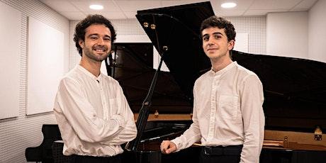 JAVIER MONSALVE Y LUIS PRADES – CONCIERTO A DOS PIANOS entradas