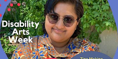 Disability Arts Week - Zine Making Workshop tickets