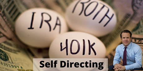Self Directed Retirement Account  - Take control over your retirement plan tickets
