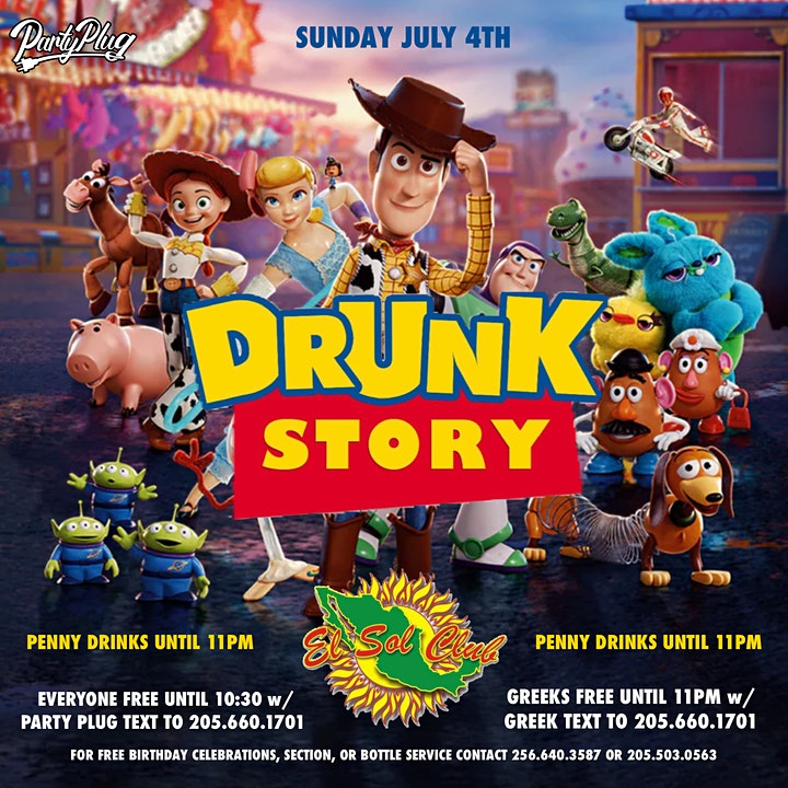 Drunk Story x The Link Up image