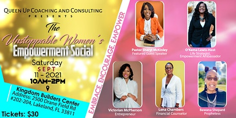 The Unstoppable Women's Empowerment Social tickets