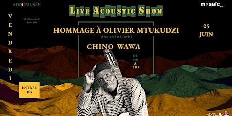 LIVE ACOUSTIC SHOW (A WEB TV SHOW) tickets