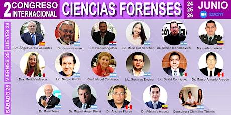 II Congreso Internacional Cs. Forenses entradas