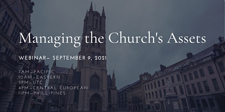 Webinar: Managing the Church's Assets tickets
