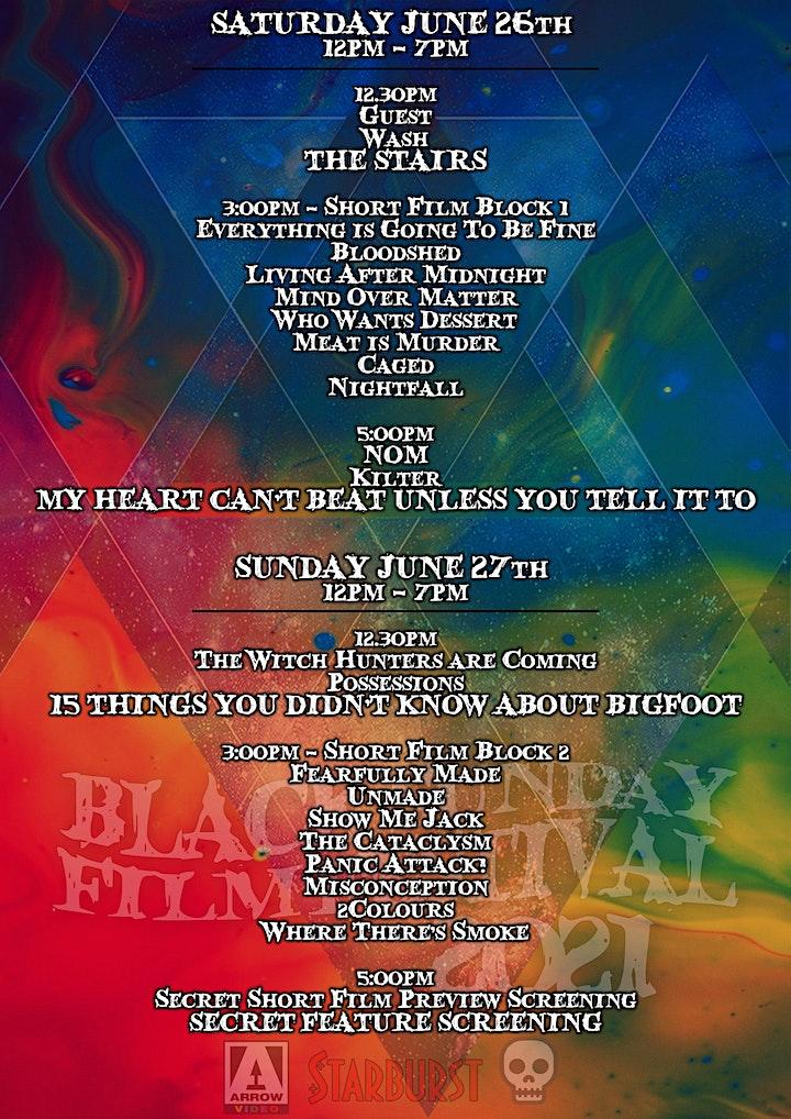 Black Sunday Film Festival 2021 image
