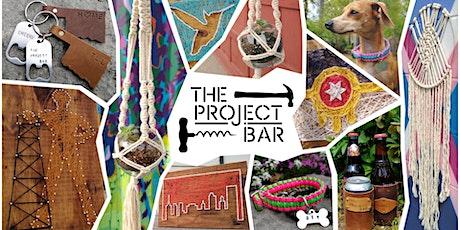 The Project Bar & Heirloom Rustic Ales - Drink & DIY tickets
