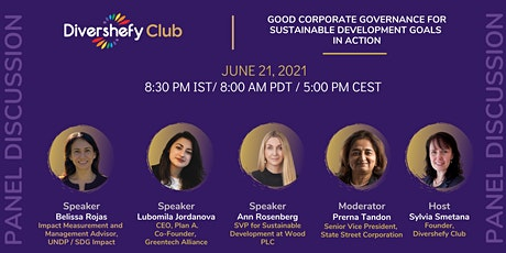 Panel Discussion - Good Corporate Governance for SDG in Action tickets