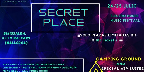 Secret Place // Binissalem, Illes Balears ( MALLORCA) entradas
